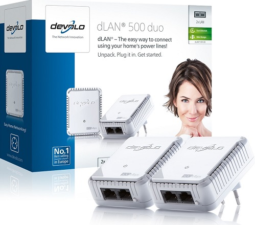 DEVOLO Powerline dLAN 500 duo Starter Kit 9120